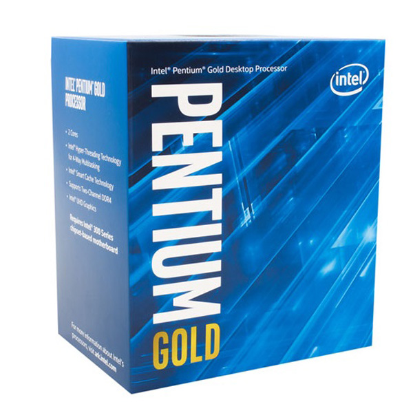 INTEL PENTIUM GOLD G5500 / 4M / 3.8GHZ / 2 NHÂN 4 LUỒNG - Socket 1151v2 Coffee Lake