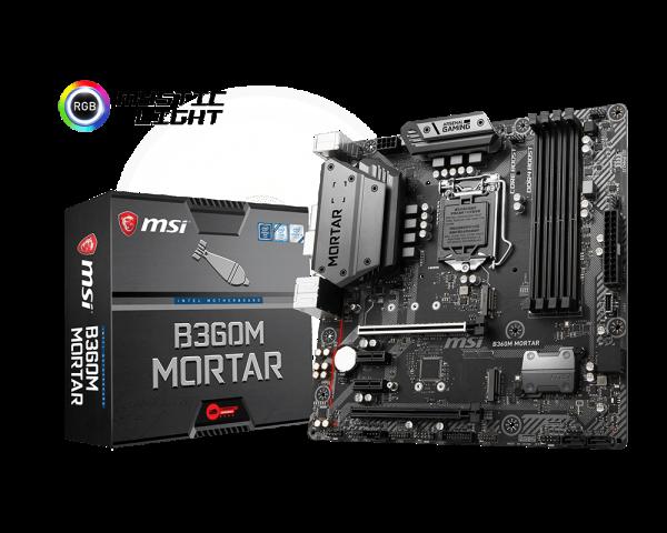 MSI B360M MORTAR - Socket 1151v2