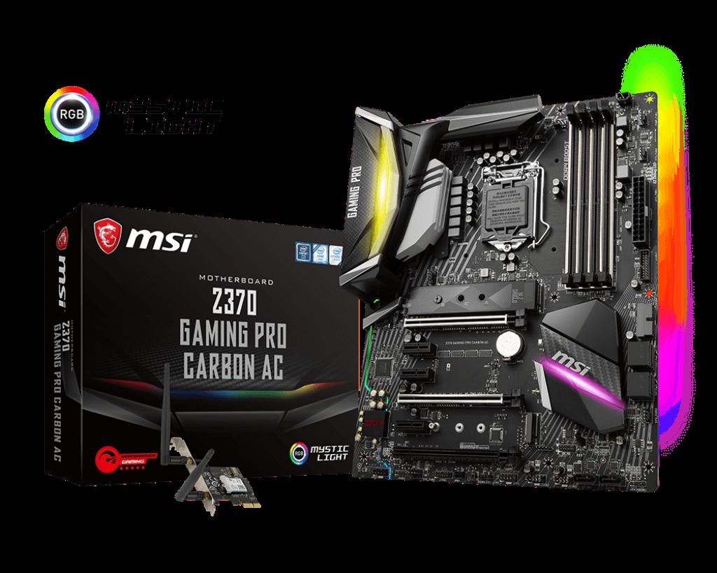 MSI Z370 Gaming Pro Carbon AC - Socket 1151v2