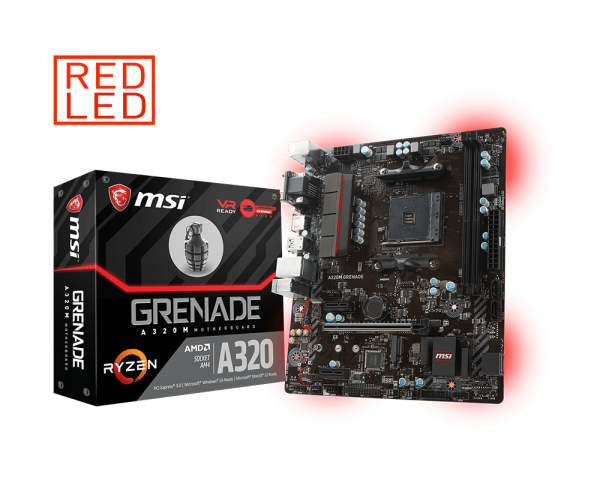 MSI A320M GRENADE - SOCKET AM4