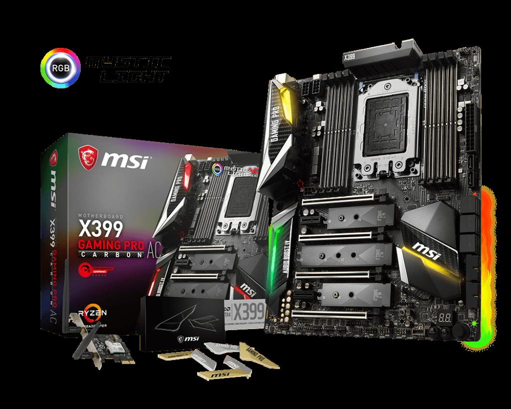 MSI X399 GAMING PRO CARBON AC – SOCKET TR4
