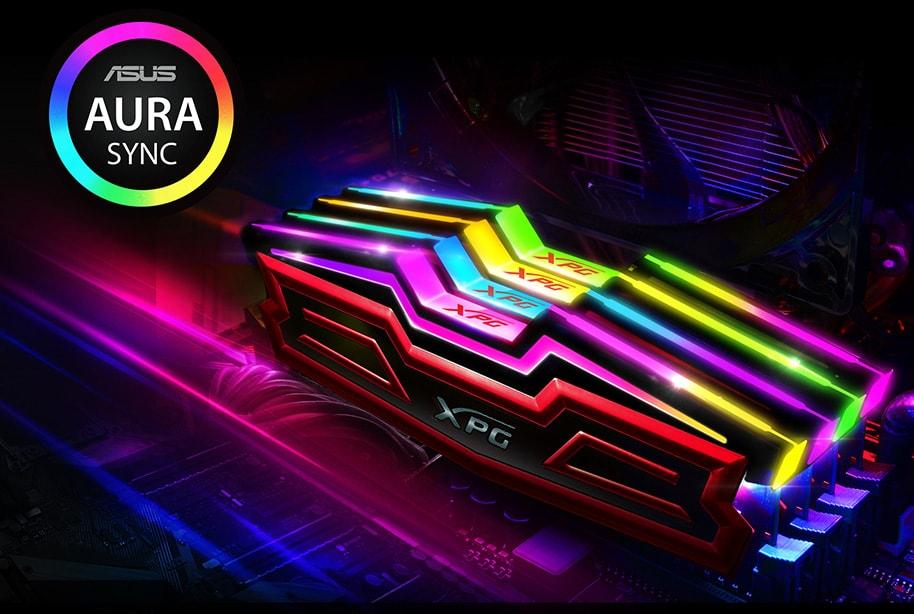 ADATA XPG SPECTRIX D40 16GB (2X8GB) RGB DDR4 3000MHZ