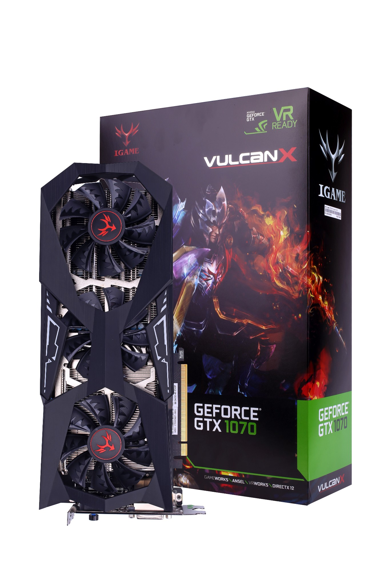 COLORFUL NVIDIA GEFORCE IGAME GTX 1070 TI VULCAN X
