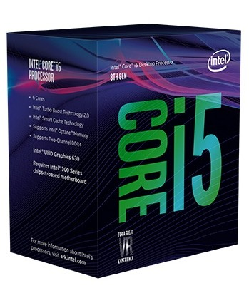 INTEL CORE I5-8600 COFFEE LAKE 6-CORE 3.1 GHZ (4.3 GHZ TURBO)