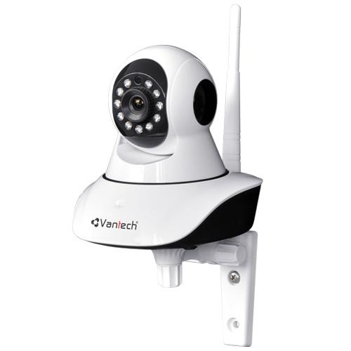 Camera IP Vantech VT-6300C 2.0 Megapixel, 11 pcs LED IR 10m, âm thanh 2 chiều, hỗ trợ Micro SD, cảnh báo chuyển động