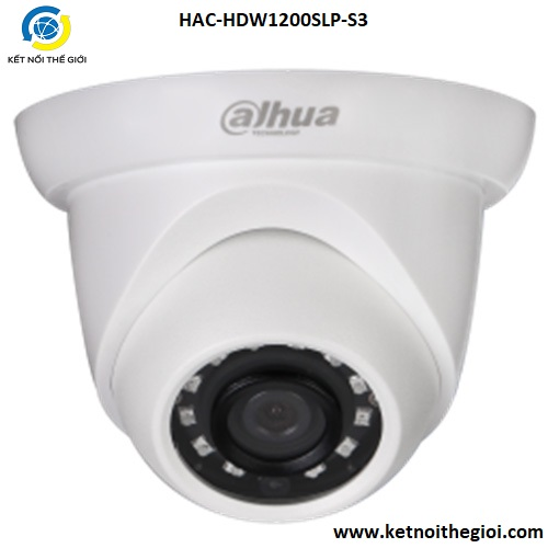 Camera Dahua HAC-HDW1200SLP-S3 2.0 Megapixel, IR 20m, F3.6mm, OSD Menu, Camera 4 in 1