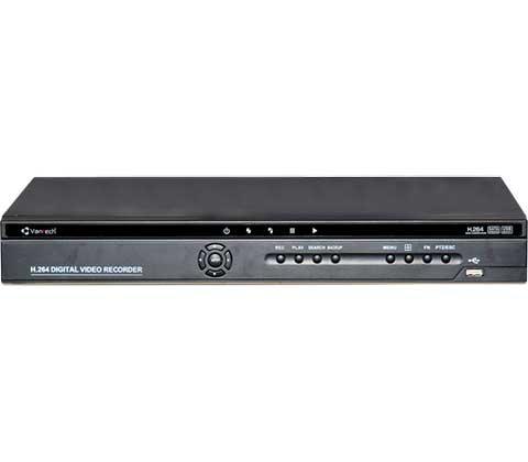 Vantech VP-1654CVI 16 kênh HD 720P, 2 sata, Cloud P2P, ngõ ra xem hình HDMI & VGA (Qmeye)