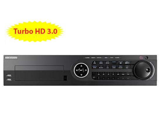 Đầu ghi hình HIKVISION DS-8116HQHI-F8/N 16 kênh HD 3MP, 8 sata, add 2 camera IP, Alarm, H.264+